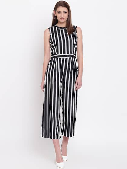 94ed8243e9f Striped Jumpsuit - Buy Striped Jumpsuit online in India