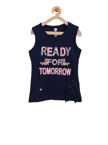 d1031ea40 Tops For Girls - Buy Tops For Girls online in India
