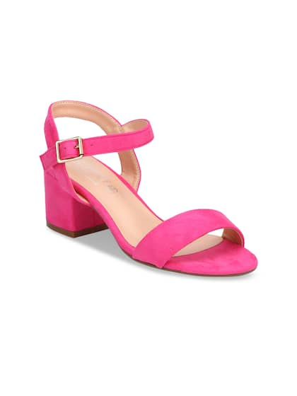 36525f65f19917 Pink Heels - Buy Pink Heels Online in India