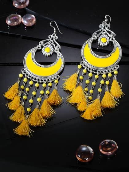 ebe75e2e3 Tassel Earrings - Buy Tassel Earring For Women Online | Myntra