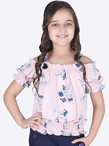 4346ebb747e Girls Tops - Buy Stylish Top for Girls Online in India