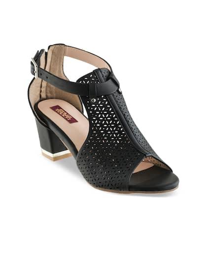 0fe1f7c6459e Black Heels - Buy Black Heels Online in India