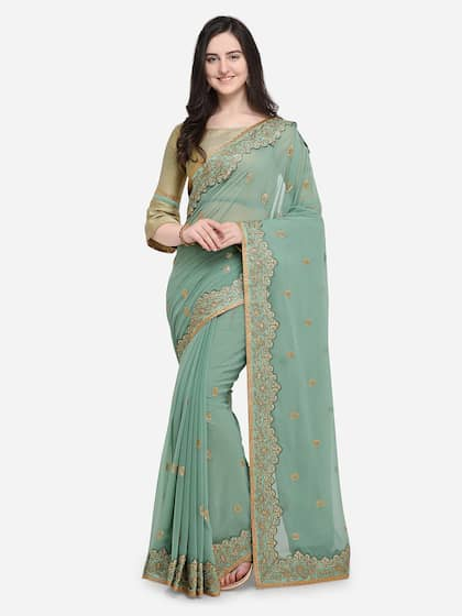 fd688252b96 Green Saree - Buy Green Color Sarees Online