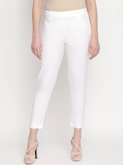 54aa153accf0 Cigarette Pants - Buy Cigarette Trousers for Men and Women Online in ...