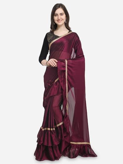 9b63933fa8 Velvet Saree - Online shopping for Velvet Sarees - Myntra