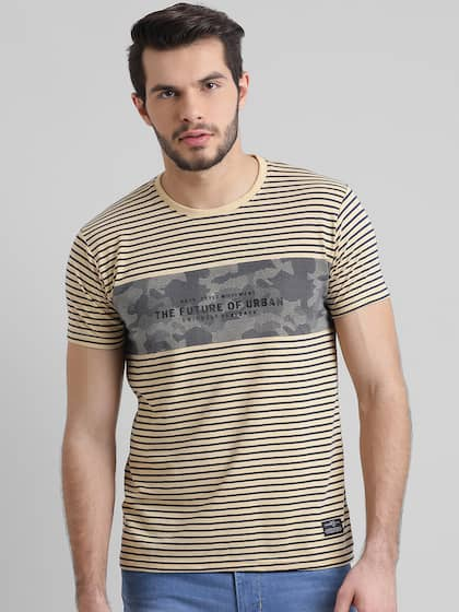 905c0f8c3 Men T-shirts - Buy T-shirt for Men Online in India | Myntra