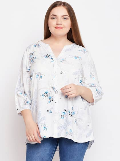 1c79a7257d58a5 Oxolloxo Printed Tops - Buy Oxolloxo Printed Tops online in India