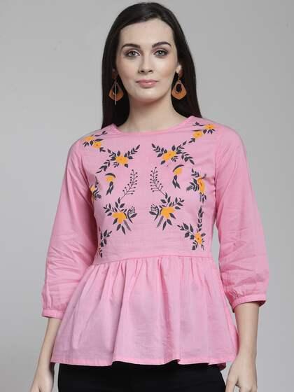 61d04c94e95 Tops - Buy Designer Tops for Girls & Women Online | Myntra
