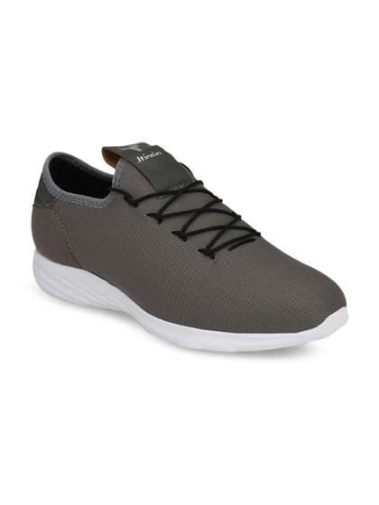 HIROLAS Men Grey Running Shoes