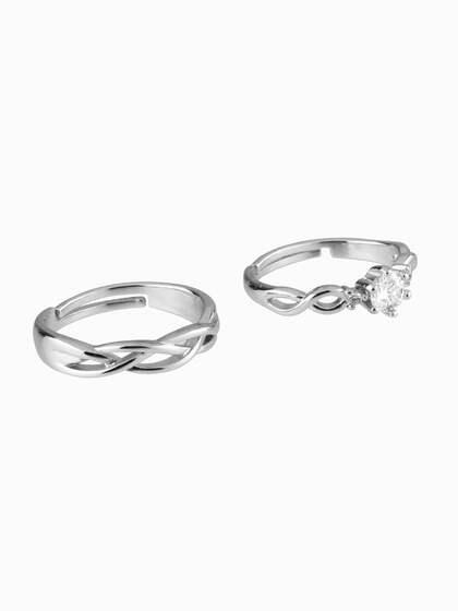 a67a9e75d Silver Rings - Buy Silver Rings for Men & Women Online | Myntra