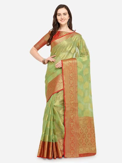 4c57c130713e8 Checked Saree - Buy Elegant Checked Sarees Collection Online