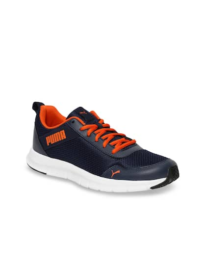 da3896572 Puma Men Blue Movemax IDP Peacoat-Firecracker Running Shoes