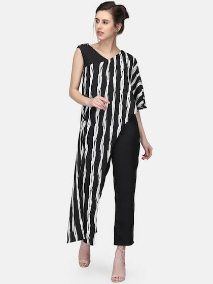 cb734b6ca027 Striped Jumpsuit - Buy Striped Jumpsuit online in India