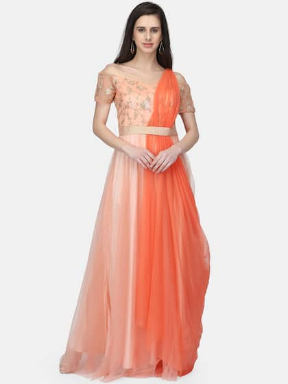 3f2cdefa4 Net Gown - Buy Net Gown online in India