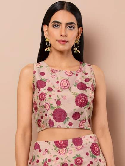daa68d52c5 Crop Tops - Buy Midriff Crop Tops Online for Women in India