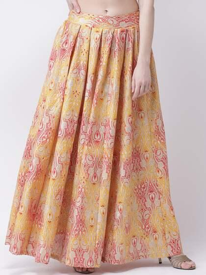 69524ba0c Yellow Skirts - Buy Yellow Skirts online in India
