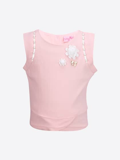 a5972ac3d Girls Tops - Buy Stylish Top for Girls Online in India