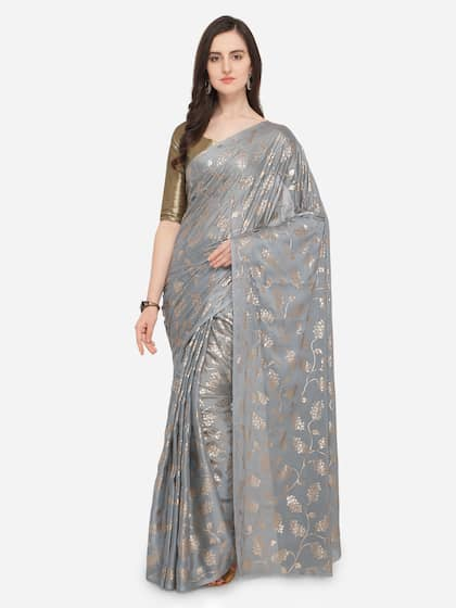 cfb30a1736 Georgette Sarees - Buy Georgette Saree Online in India | Myntra