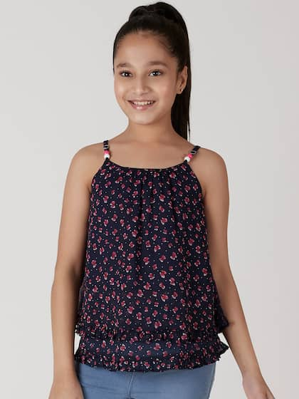468c2180d44 Girls Tops - Buy Stylish Top for Girls Online in India | Myntra