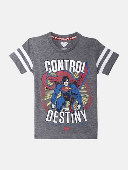 74c151e5a8e Superman T-shirts Buy Superman T-shirt Online in India at Myntra
