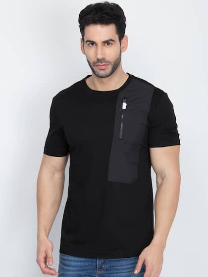 2bca39b8 Men T-shirts - Buy T-shirt for Men Online in India | Myntra