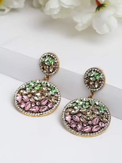 186615f9b692e Crystal Earrings - Buy Crystal Earrings Online in India