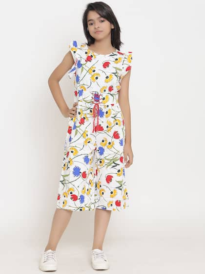 509ef9fa7a71 Jumpsuit For Girls- Buy Girls Jumpsuit online in India