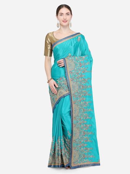 cfbf4eb947f6b3 Georgette Sarees - Buy Georgette Saree Online in India