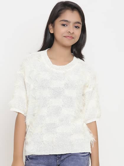 Girl s Sweaters - Buy Sweaters for Girls Online in India  2ac60cb68