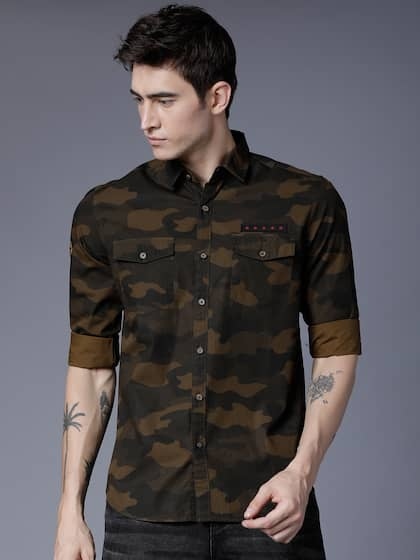 ef87901fec Camouflage Shirts - Buy Camouflage Shirts online in India