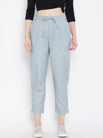 c50f82df141046 Women's Trousers - Shop Online for Ladies Pants & Trousers in India ...