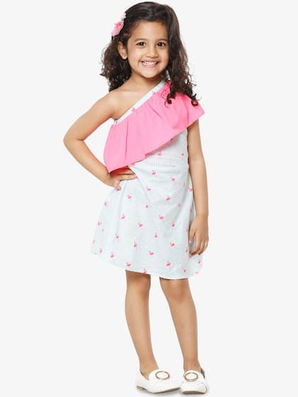 5e0b5a6160caa Girls Dresses - Buy Frocks & Gowns for Girls Online | Myntra