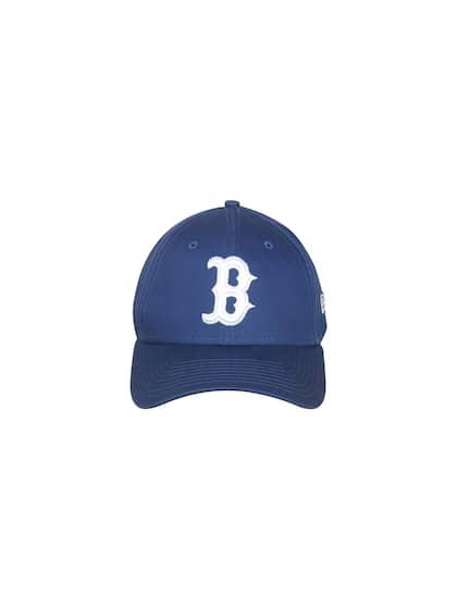 3b817de06c8 NEW ERA Men Blue Solid Visor Cap
