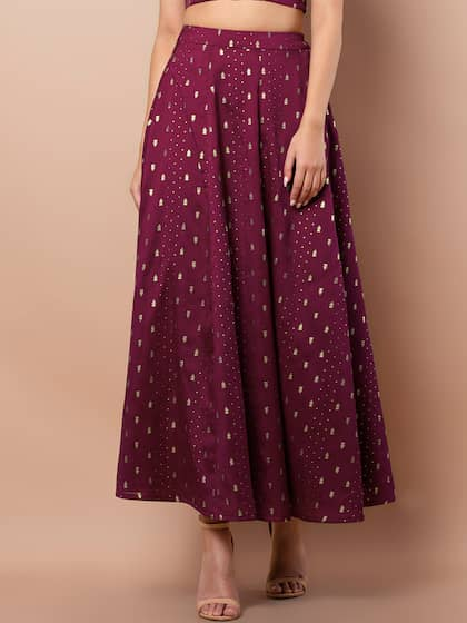Excellent Womens Purple Skirt Size 4 Small Skirts