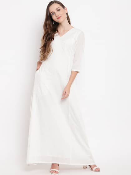 14a5a5ca1ddb Long Dresses - Buy Maxi Dresses for Women Online in India - Upto 70% OFF