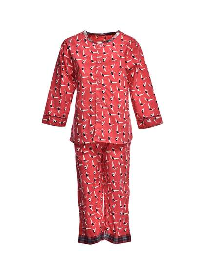 993391e268a A Little Fable. Unisex Printed Night Suit
