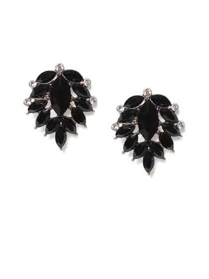 Beautiful Silver Earing Indian Traditional Mirror Hook For Party & Wedding Jewelry & Watches