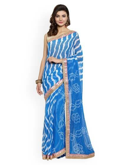 573fef096 Blue Saree - Buy Blue Color Women Sarees Online
