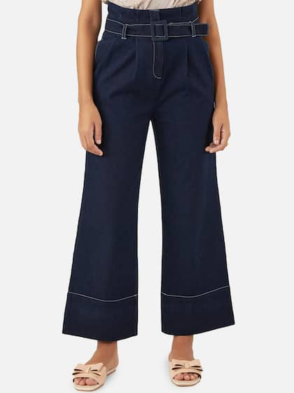 27b488dd1b65 Women's Trousers - Shop Online for Ladies Pants & Trousers in India ...