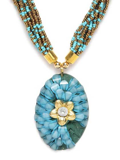 70b0e30ef7c601 Beaded Necklace - Buy Bead Necklaces For Women Online in India