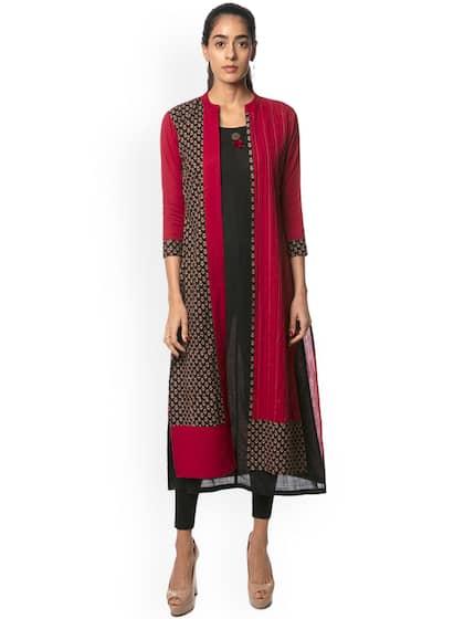 4e5b2f0b127 Layered Kurtas - Buy Layered Kurtas online in India