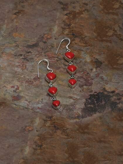 ecec0ed13 Stone Earrings - Buy Stone Earrings Online in India