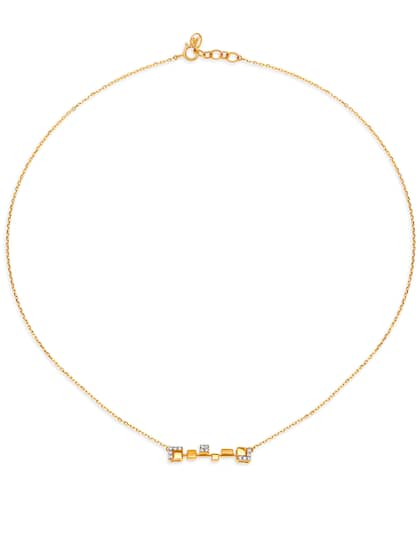 Mia By Tanishq Necklace And Chains Diamond - Buy Mia By Tanishq