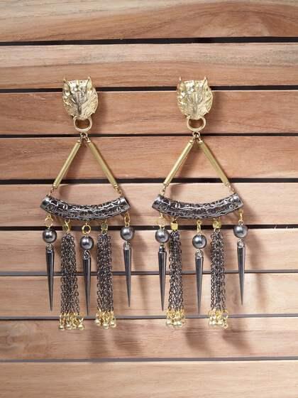 e76bfbb8e5d8a Mangal Alloy Jhumki Earring - Buy Mangal Alloy Jhumki Earring online ...