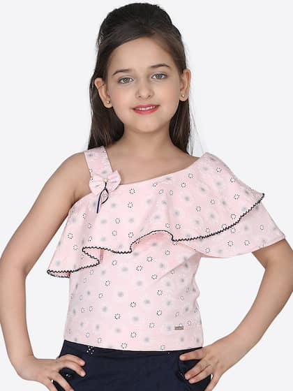 b542dede01 Girls Tops - Buy Stylish Top for Girls Online in India   Myntra