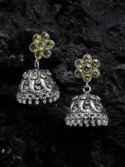 324c12615 German Silver Earrings - Buy German Silver Earrings online in India