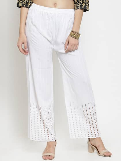 9f6cb30868ade2 Palazzo Pant - Buy Latest Palazzo Pants Online in India | Myntra
