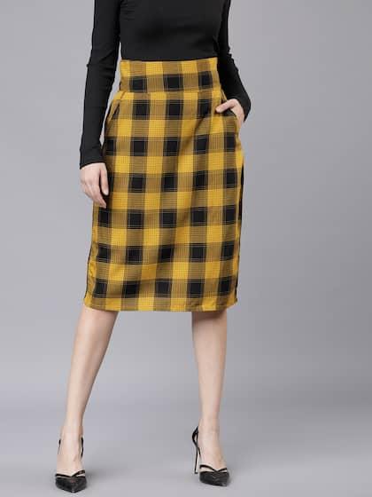 083233ccc8f Skirts for Women - Buy Short, Mini & Long Skirts Online - Myntra