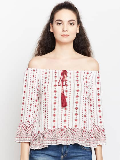 346c41a03f1 Off Shoulder Tops - Buy Off Shoulder Tops Online in India | Myntra