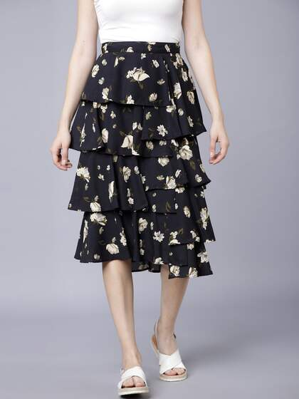 43a524a0c1 A-Line Skirt - Buy A-Line Skirts for Women & Girls Online   Myntra